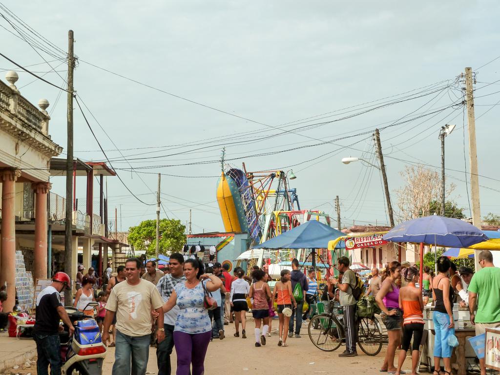 Stadtfest in Jagüey Grande, Kuba