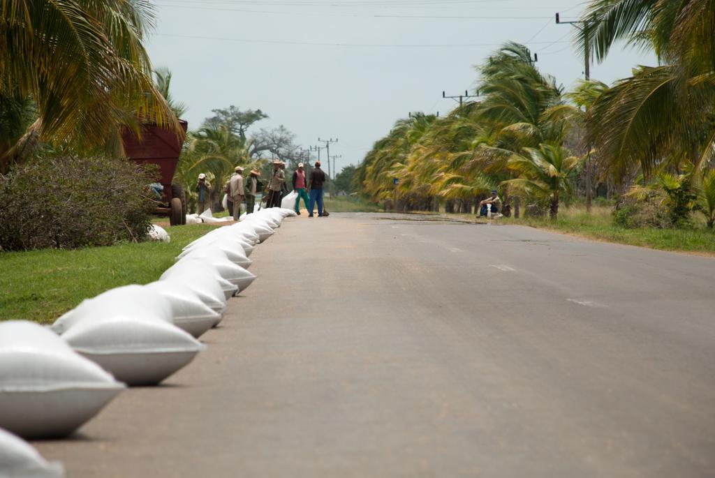 In Kuba verpackter Straßenreis