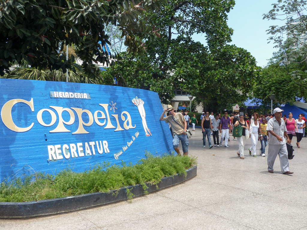 Coppelia - Eisdiele in Havanna