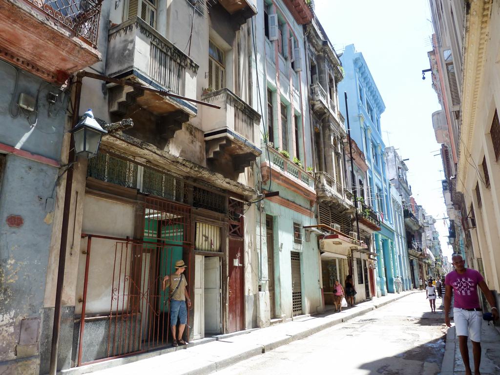 Unsere Unterkunft in Havanna