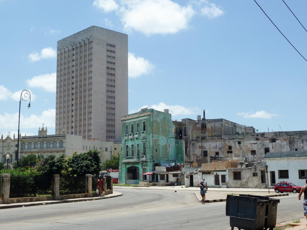 Die Gebäude Havannas