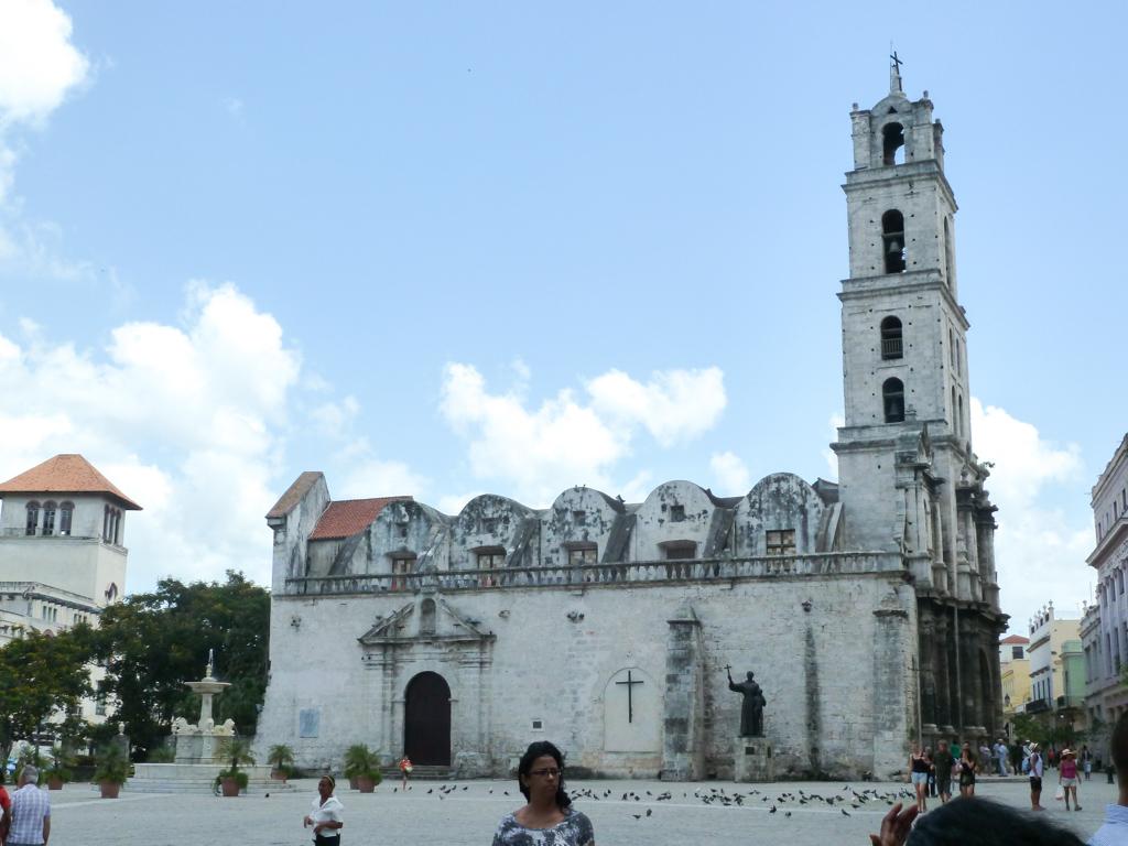 Havanna Kathedrale Schiff
