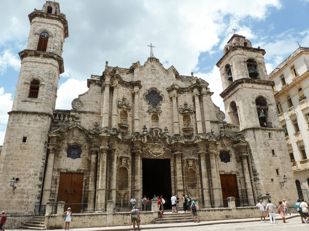 Havanna Kathedrale Eingang