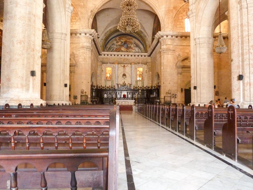 Havanna Kathedrale innen
