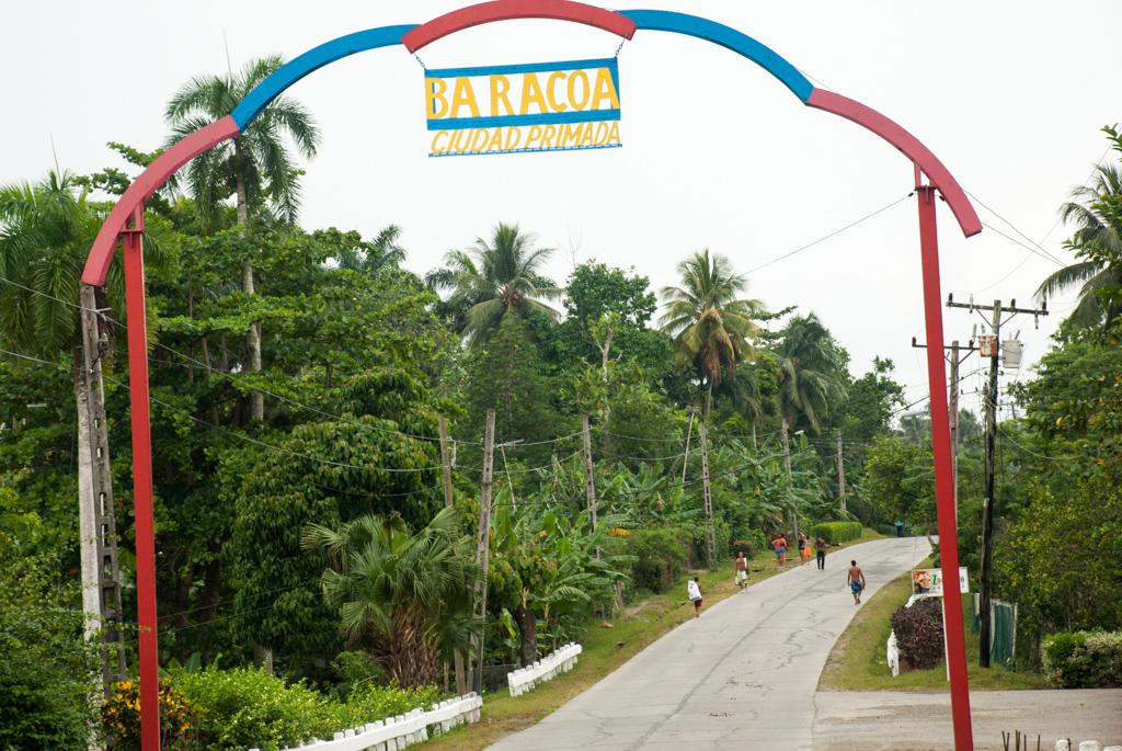 Baracoa Einfahrt