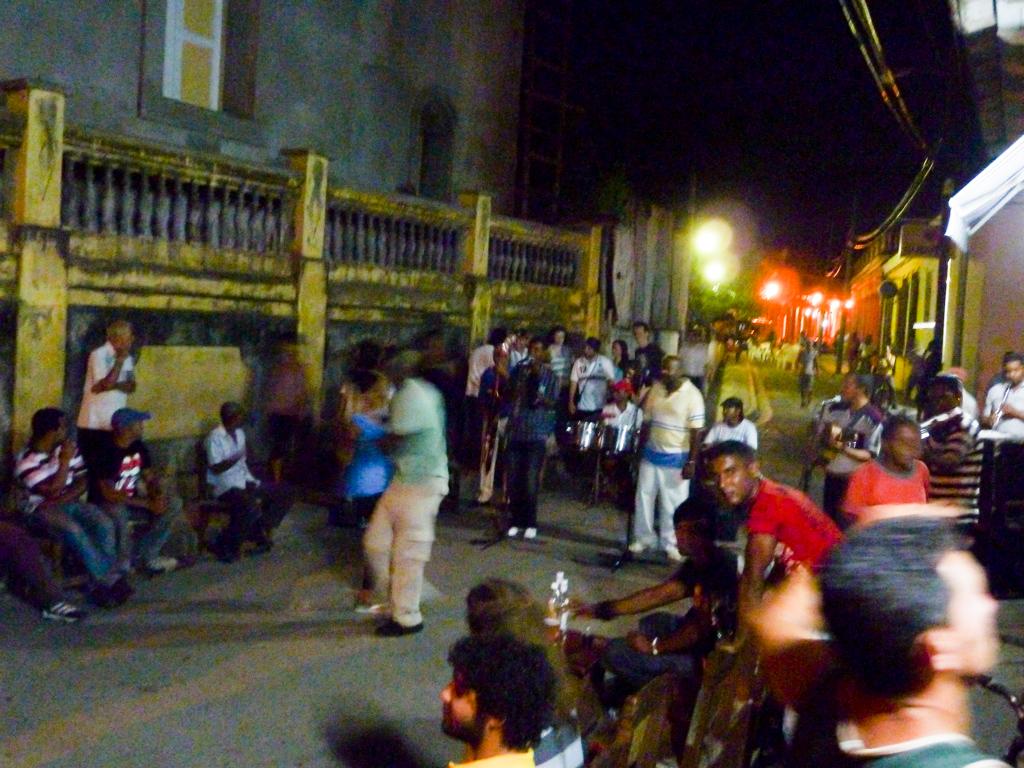 Baracoa Musik und Tanz in der Nacht