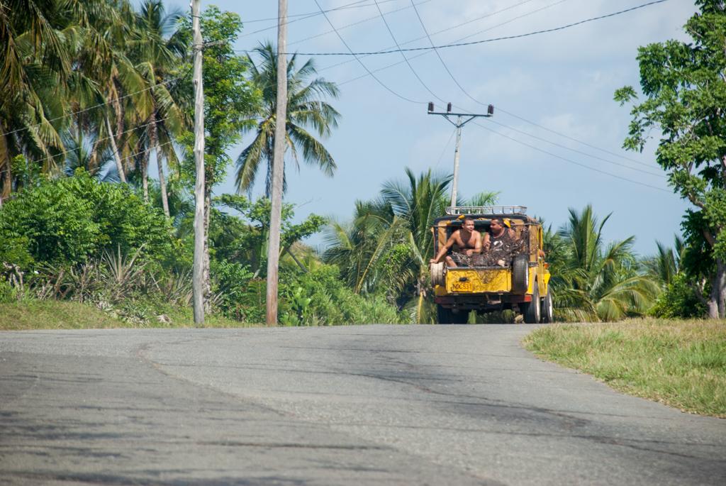 Beifahrer auf Kuba