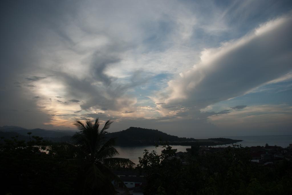 Baracoa Sonnenuntergang