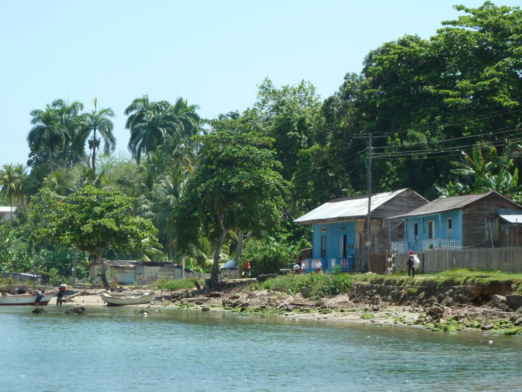 Fischerdorf in der Bahia de Marta