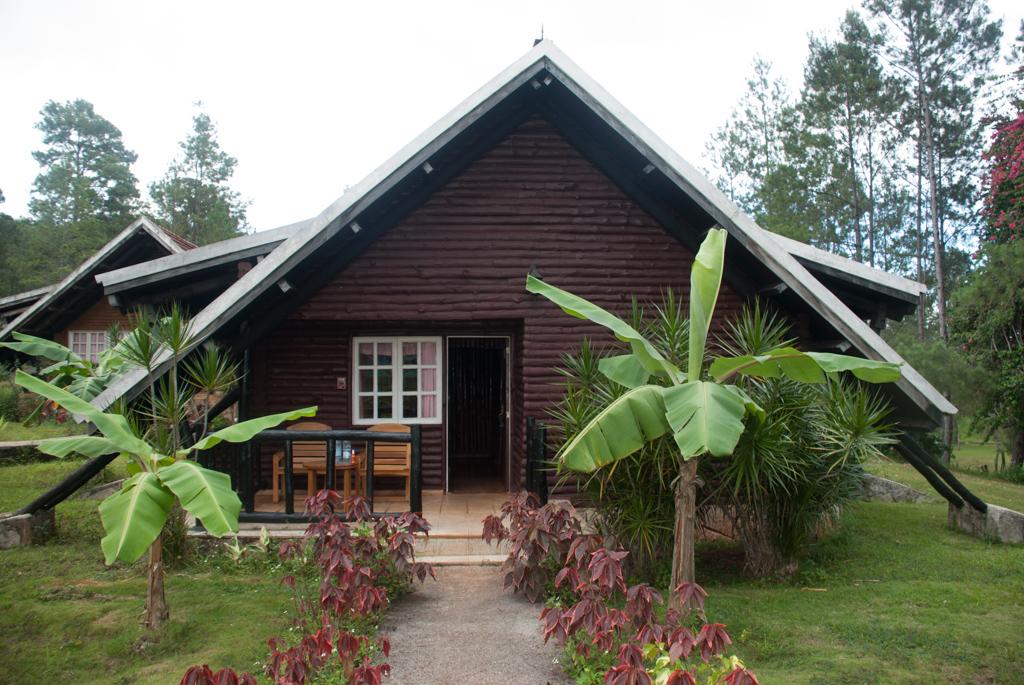 Unsere Hütte im Hotel Pinar de Mayarí