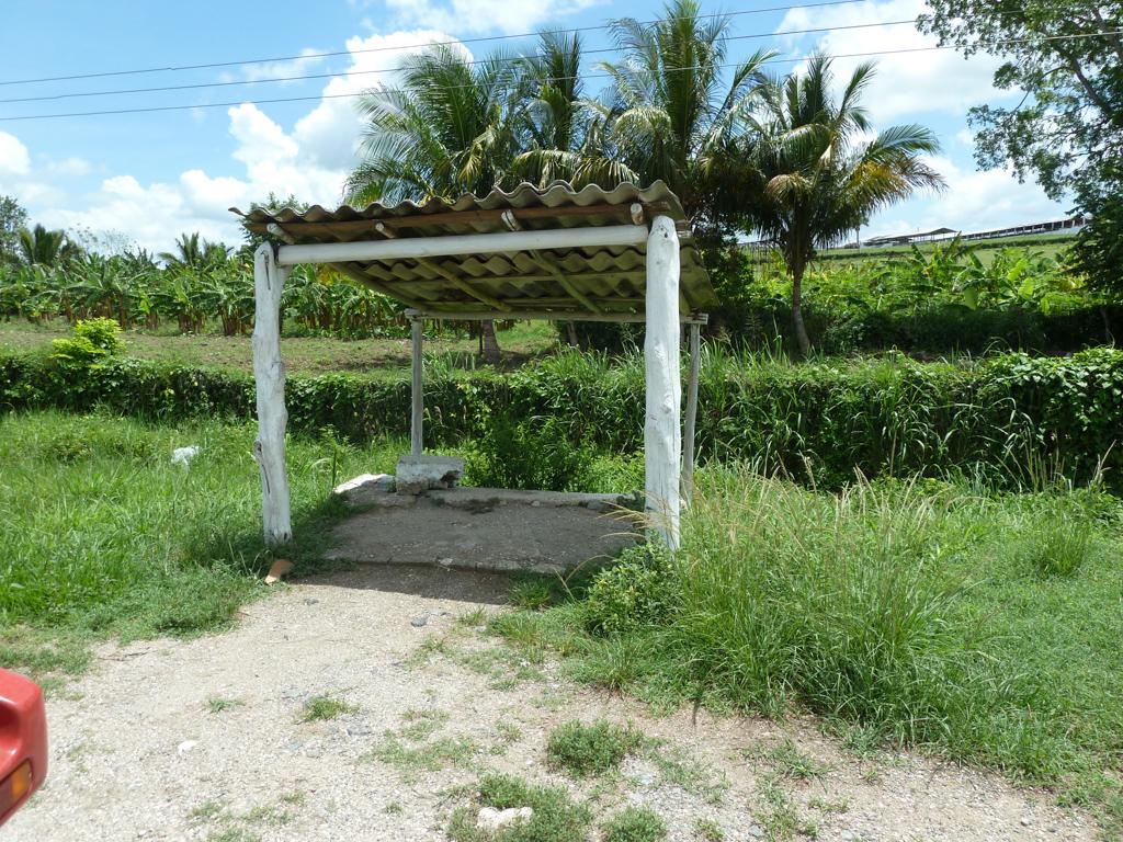 Bushaltestelle auf Kuba