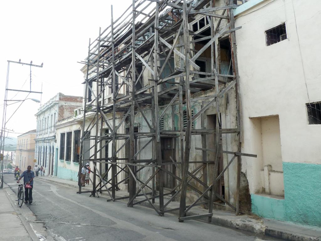 Kuba und die Bauruinen