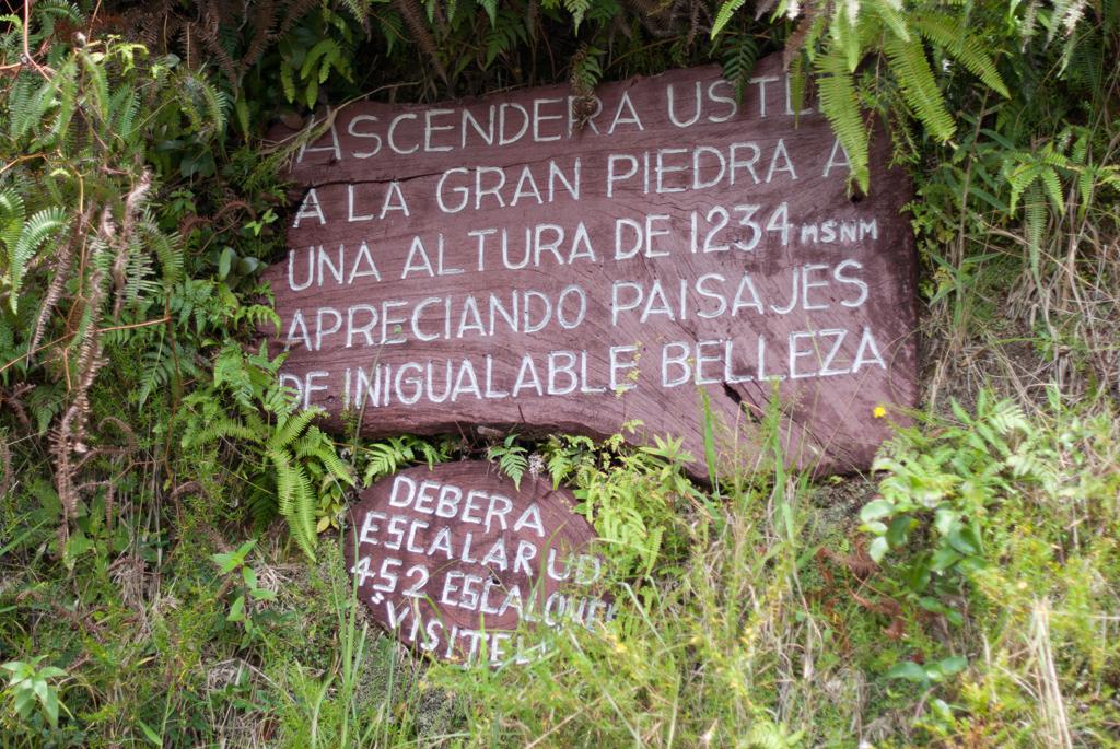 Der steile Weg zum Gran Piedra