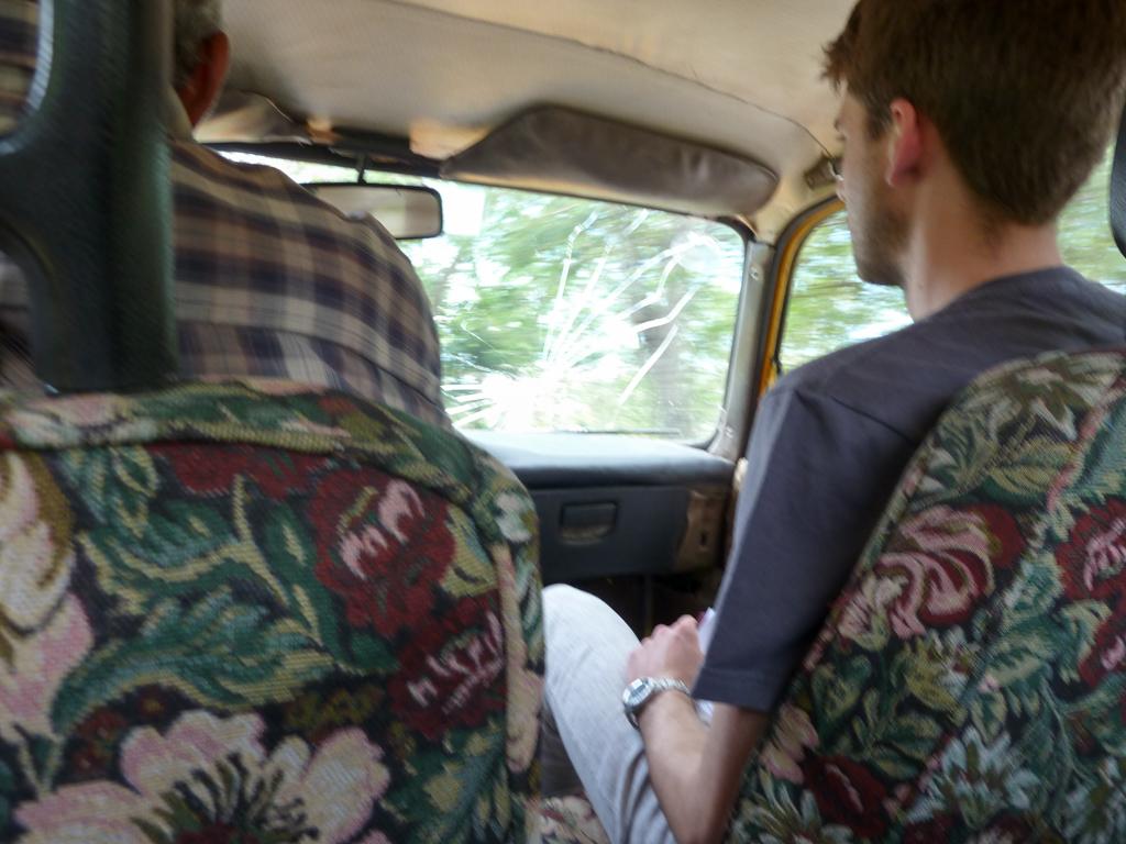 Taxifahrt auf Kuba